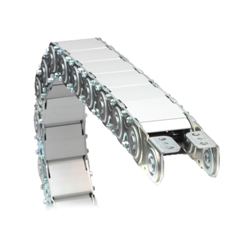 Metallic-Fully-Enclosed-Cable-Drag-Chains